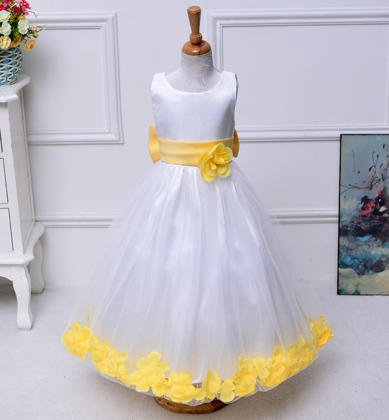 5fe1d2f2d1 3t 10 12 14 years Girls easter dresses teenagers baby Princess flower  wedding birthday dress ceremony little girls evening gowns-in Dresses from  Mother & ...