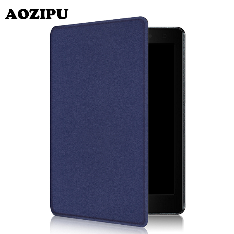 Ultra Slim Magnet Smart Wake/Sleep PU Leather Protective Stand Cover for Kobo Aura One 7.8 inch Tablet eReader eBook Funda Case ultra slim ebook case for amazon kindle voyage 2014 magnet flip cover pu leather cross lines ereader cases wake sleep