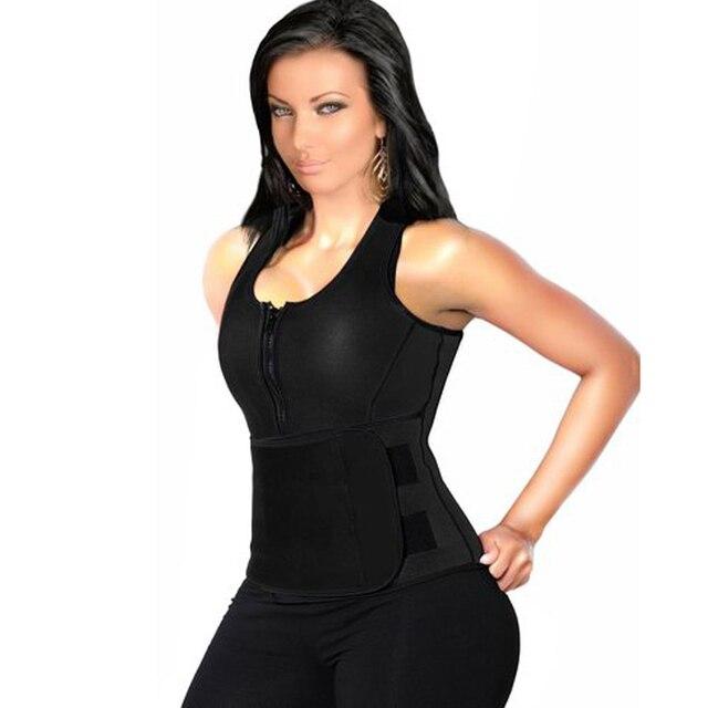 96eea28d90aa1 neoprene vest bodysuit women full body corsets body shaper waist trainer  shapewear body shaper slimming waist
