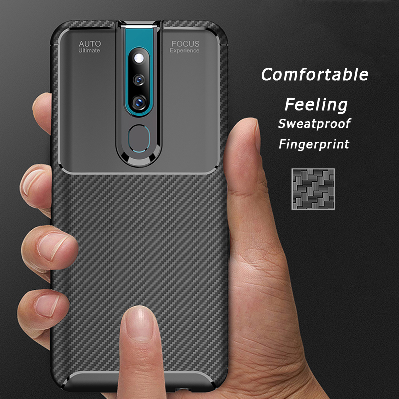 F11 pro For OPPO F11 Pro IQOO R17 Pro Ultra Thin Cover Carbon Fiber Soft Silicone Case for Oppo F11pro f11 pro iqoo Backet Shell