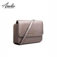 AMELIE GALANTI дизайн 2018 сумки через плечо мини сумки для женщин телефон искусственная кожа сумка мессенджер сумки с животным принтом на плечо