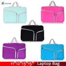 Macbookの空気プロ網膜11 12 13 14 15 15.6インチのラップトップスリーブケースpcタブレットケースカバー女性のラップトップバッグと男性