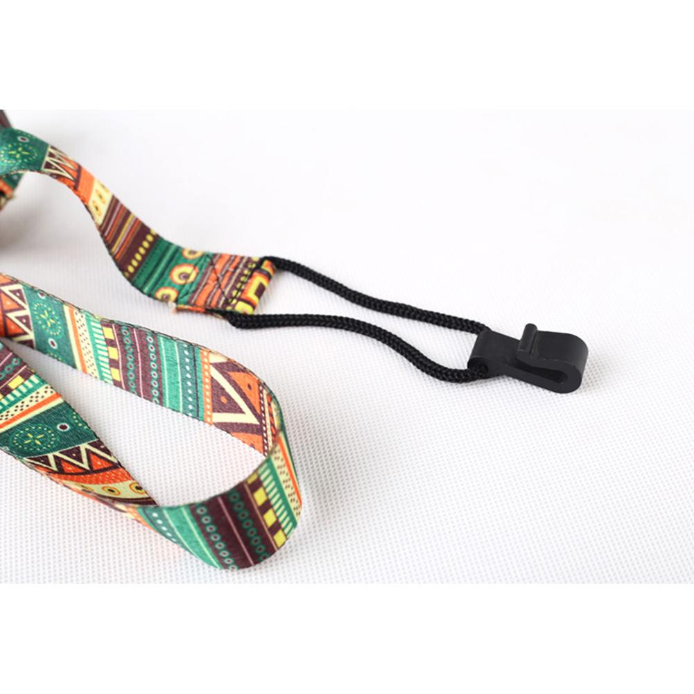 Etnische stijl ukelele riem duurzaam verstelbare print lint clip-on - Muziekinstrumenten - Foto 3