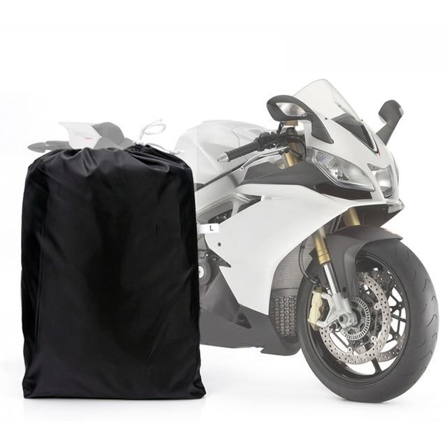 TOYL L Large Waterproof Outdoor Motorcycle Motorbike Cruiser Bike Scooter Cover