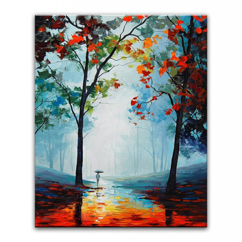 DONGMEI OILPAINTING  hand painted oil painting high quality Modern art landscape painting home decor pictures WX15042236