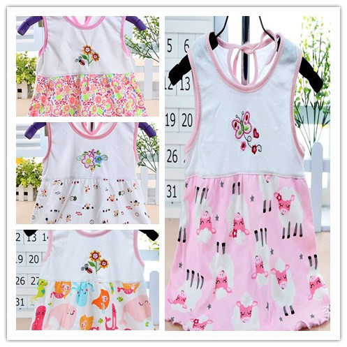 baby for girls cute girl baby t shirt dress tank top outerwear summer girls clothes baby vest baby tops