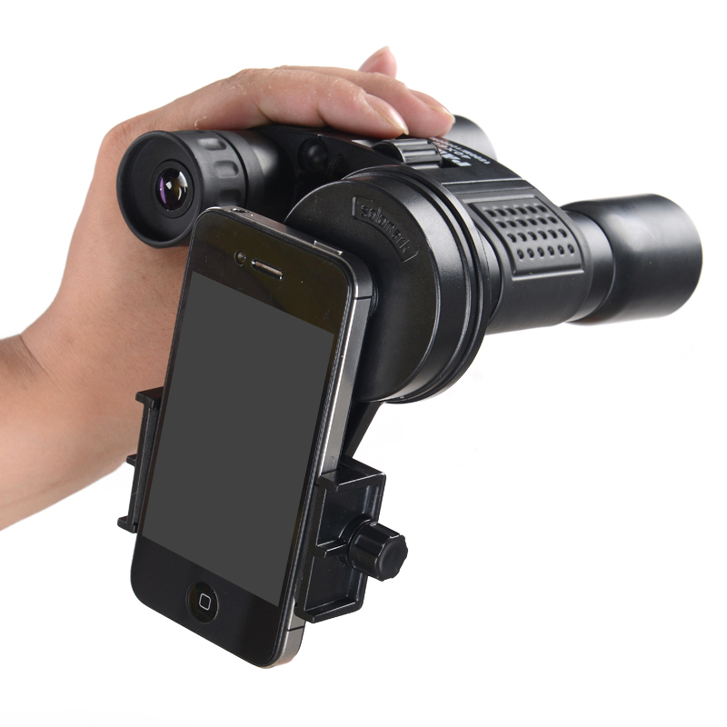 Universal Optical Monocular Stand Adapter Clip Holder Hold Cellphone Easily Take Any Type Of Smart Phones For IPhone Samsung