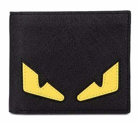 Budalaa Stylish Wallets Cartoon Kawaii Mini Purse Casual Leather Money Bag Quality Guarantee Small Cute Eyes