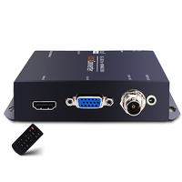Composite to HD 3g SDI Converter Manufacturer 1080P to 1080i SDI to HDMI VGA AV CVBS Video Audio Converter