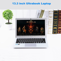 Kingdel Powerful Ultra Thin Ultrabook Computer 13 3 Intel 5th Gen I7 7500U Laptop Notebook With