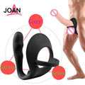 2016 New Prostate Massage Anti Premature Ejaculation Good Elasticity Delay Ring Sex Toys For Man Men Sex Toys For Couples-215