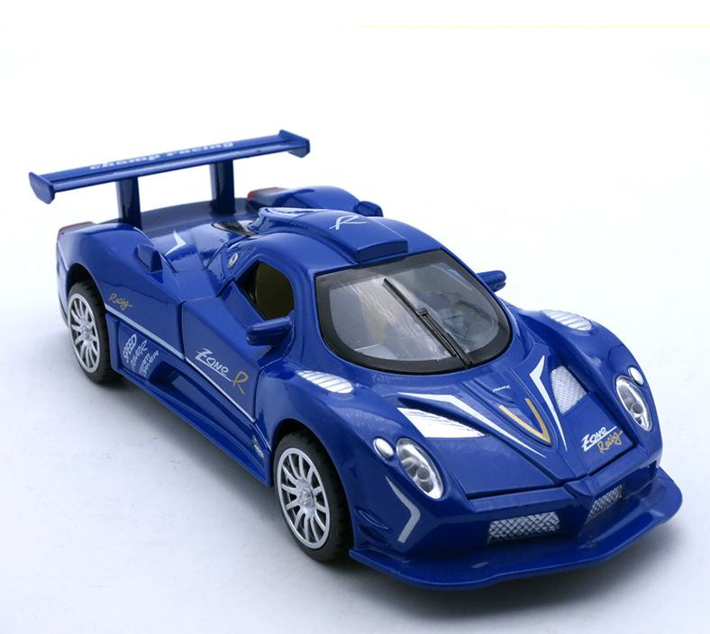 1:32 Alloy Sports Car Model,high Simulation Pagani Zonda,metal Diecast Toy Vehicles,pull Back & Flashing & Musical,free Shipping