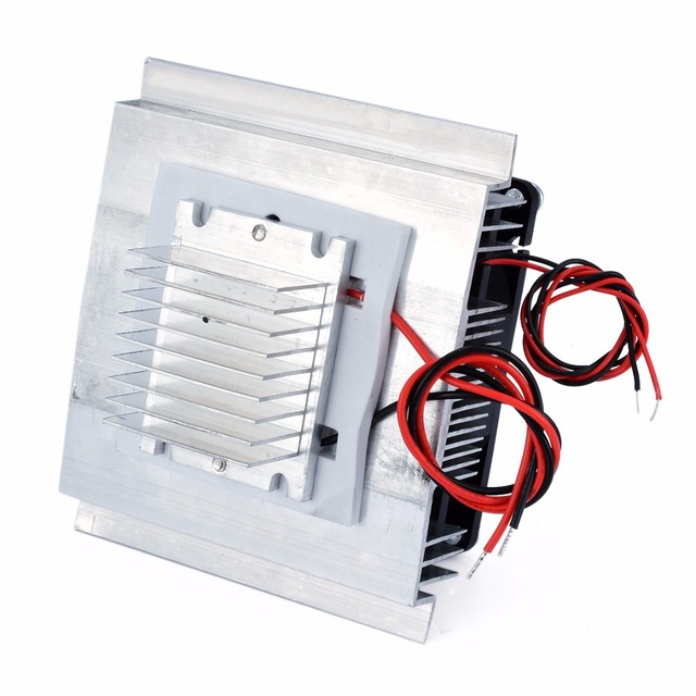 DC 12V Thermoelectric Peltier Refrigeration Cooling System Semiconductor Air Conditioner Cooler DIY Kit 5