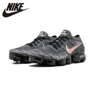 Nike AIR VAPORMAX FLYKNIT Breathable Men's Original Running Shoes Dark Grey Sports Sneakers 849558 010