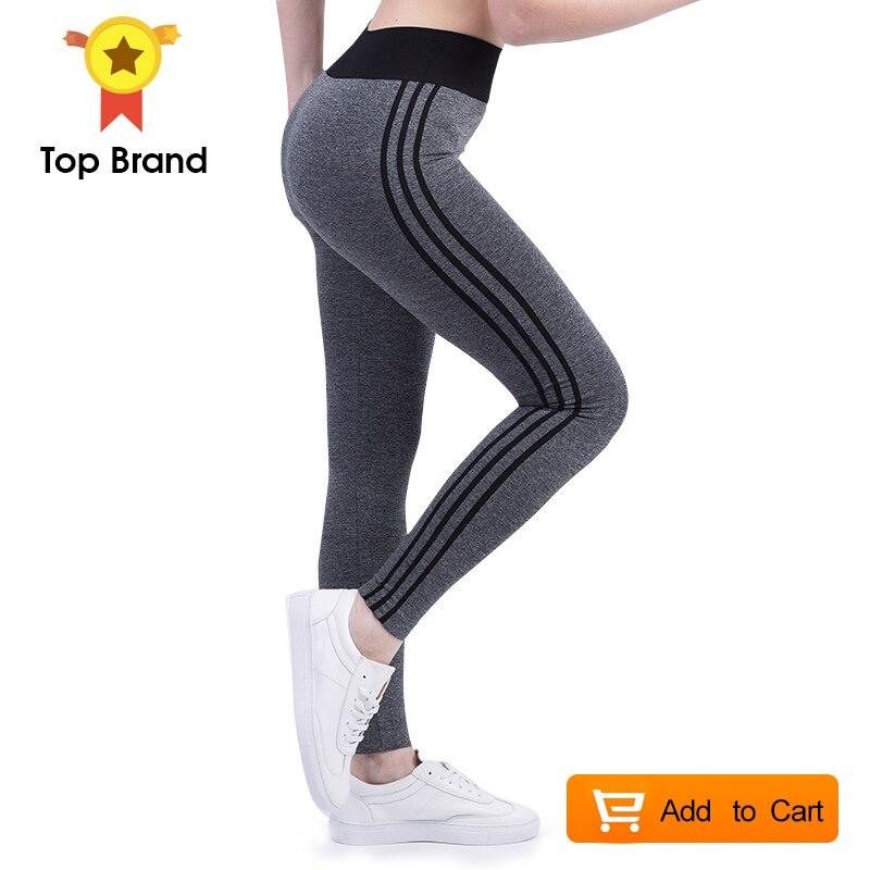 a79f4a334f359 Women Leggings High Waist Elastic Leggings Patchwork Women Pants ...