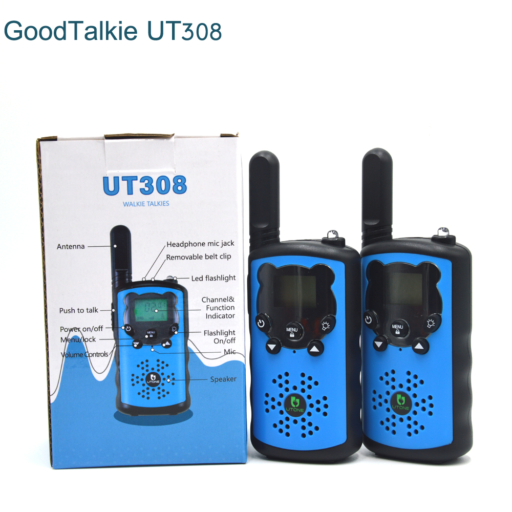 Image 5 - GoodTalkie UT308 long range two way radios travel walkie talkie 10 km-in Walkie Talkie from Cellphones & Telecommunications