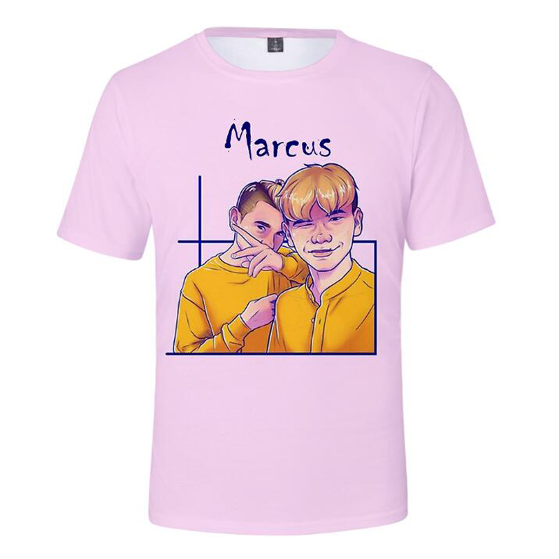 Marcus and Martinus 3D Cartoon Printed T Shirt Men Women KPOP Moment Tour Funny T Shirts Male Streetwear Hip Hop Tee Shirt Femme