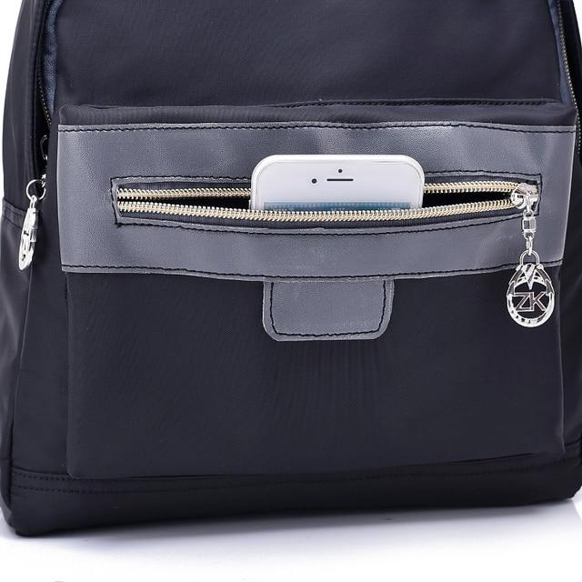 Не большой женский рюкзак Водонепроницаемый нейлон 2