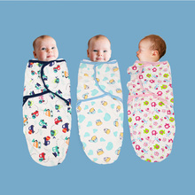 2019 new baby swaddle wrap parisarc 100% cotton soft infant newborn baby product
