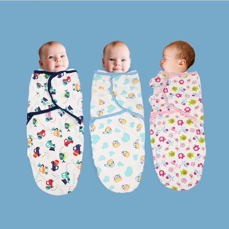 2020 New Baby Swaddle Wrap Parisarc 100% Cotton Soft Infant Newborn Baby Products Blanket & Swaddling Wrap Blanket Sleepsack