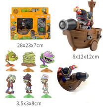 Game PVZ Plants vs Zombies Peashooter PVC Action Figure Model Toy Gifts Toys For Children High Quality In OPP Bag figma Puppets