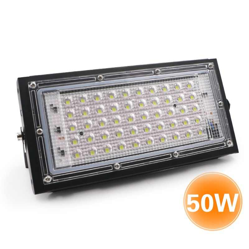 EnwYe 220V 240V LED Cast light LED Spotlight 50W IP65 power waterproof Landscape Lighting LED street Lamp