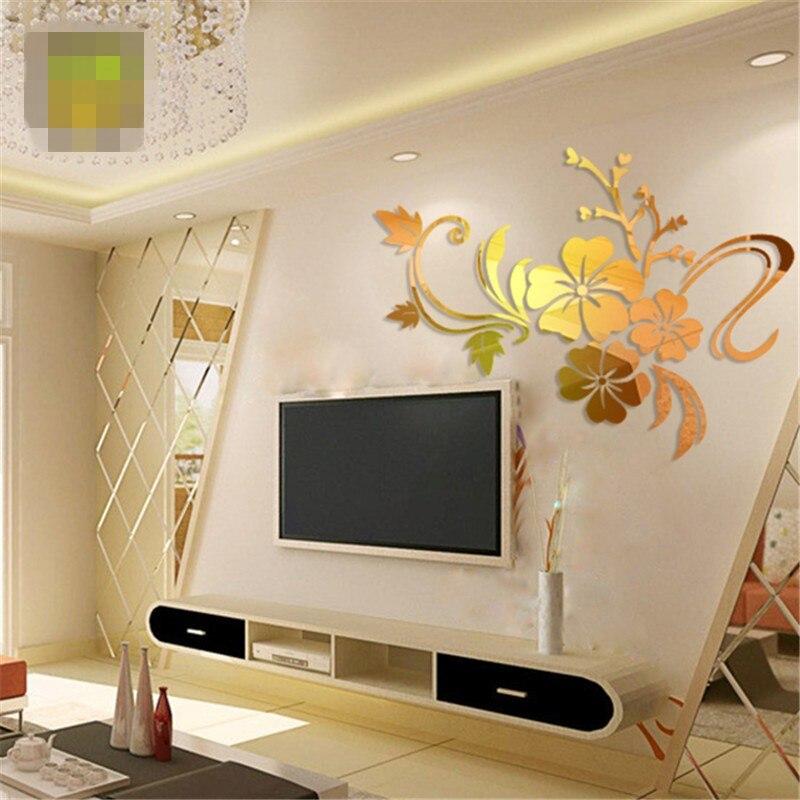 online kaufen großhandel klebe spiegel fliesen aus china klebe ... - Moderne Spiegel Fur Wohnzimmer