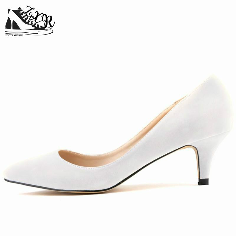 Women Shoes Pumps Velvet Size 35-42 Sexy Pointed Toe Shallow Mouth 6cm High Heels Shoes Woman Wedding Shoes genuine large size single toe head high heels shallow mouth thin heel velvet shoes woman star with w824