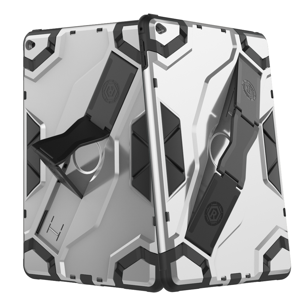 Rugged Case For ipad 6 ipad air 2 Tablet Protective Cover Skin Folding Stand Protective Camera