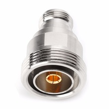 цена на RF microwave Coaxial Adapter L29 7/16 DIN Female to N Female Connector