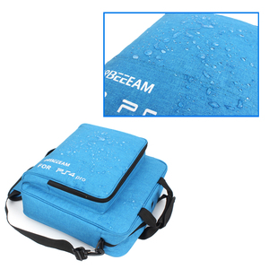 Image 4 - Handbag Multifunction Bag for PS4/PS4 PRO slim mi Original size Protect Shoulder Carry Bag Canvas Case For PlayStation 4 Consol