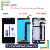For XIAOMI Redmi Note 2 Display Touch Screen Digitizer Assembly Replacement NO Dead Pixels FHD LCD For Redmi Note LCD Assembly