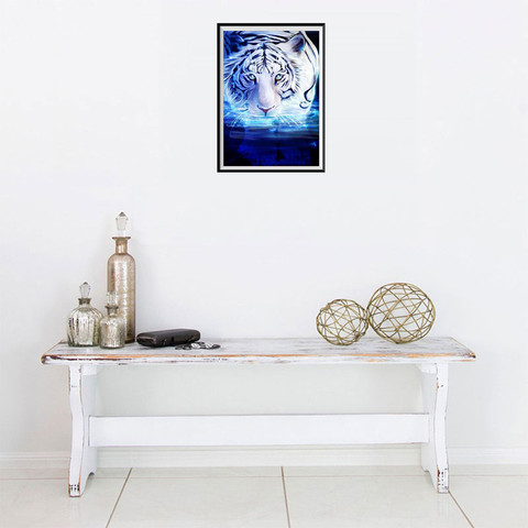 Dropshipping 5D DIY Diamond Painting Embroidery Part Round  Diamond Home Decor Gift Pakistan