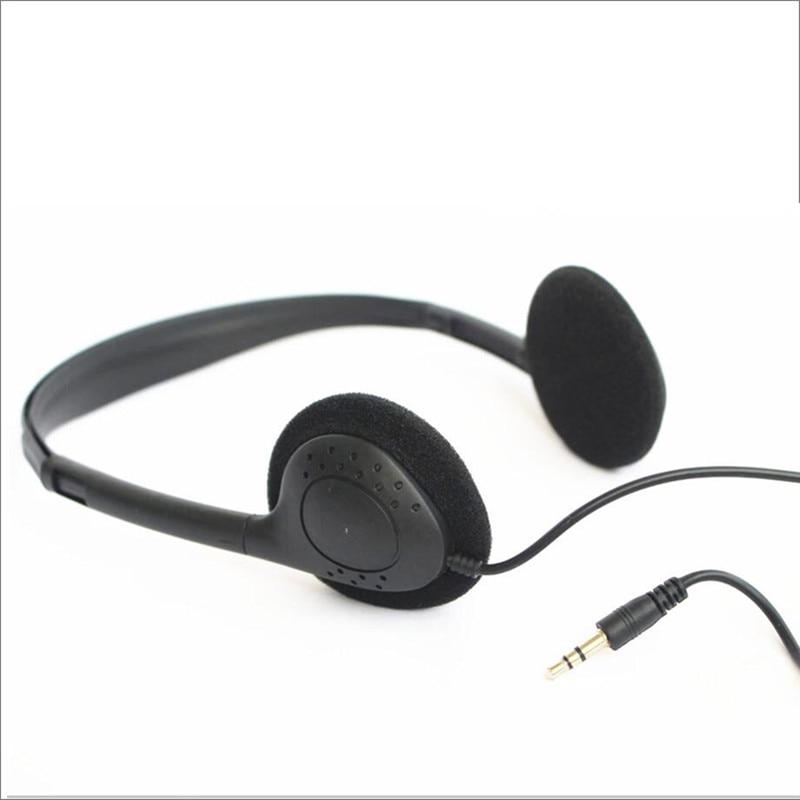 Linhuipad Economical Stereo-Kopfhörer 3,5-mm-Einweg-Headset für - Tragbares Audio und Video - Foto 5