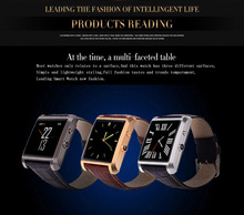 smartwatch DM08 bluetooth sync for Galaxy S5 S4 Note543 ZTE HTC Iphone456plus  android/ios smartphone sports Pedometer sms push
