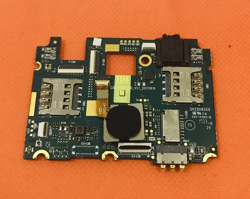 Used Original mainboard 3G RAM 32G ROM Motherboard for Cubot X18 MT6737T Quad Core Free Shipping