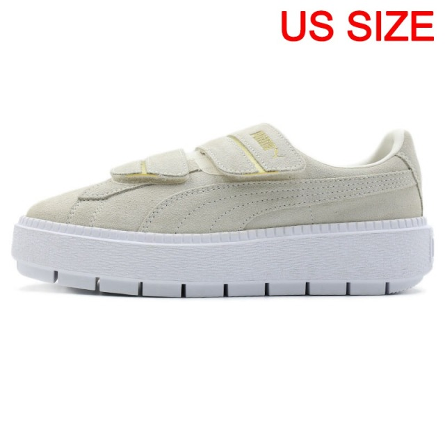 Los Angeles gamme exceptionnelle de styles en soldes US $141.96 22% OFF|Original New Arrival 2018 PUMA Platform Trace Strap  Women's Skateboarding Shoes Sneakers-in Skateboarding from Sports & ...