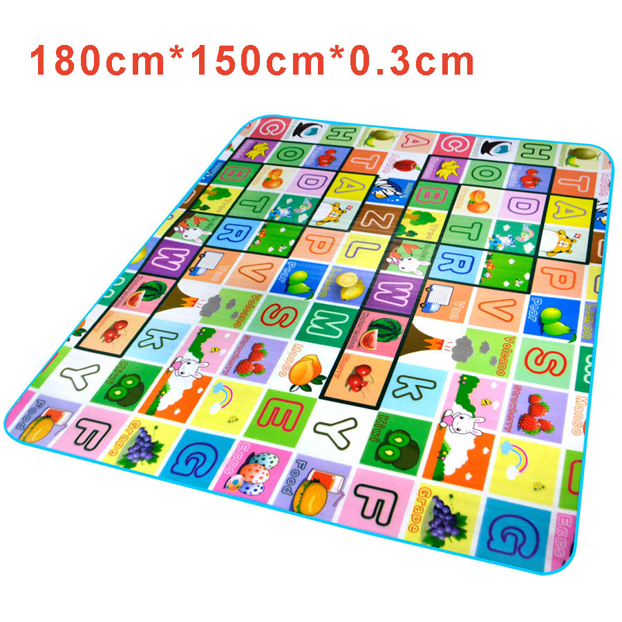 crawling pad rug foam floor hair cutting product baby long fur area mat puzzle play
