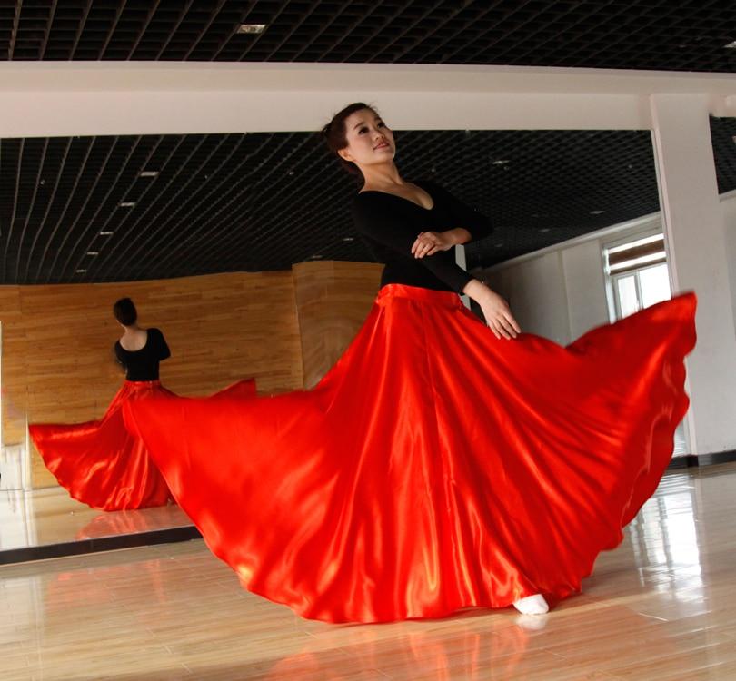 Lady Belly Dancing Skirt Girls Belly Dancing Costumes Ethnic Minority Performance Dress Training Long Skirt B-6827