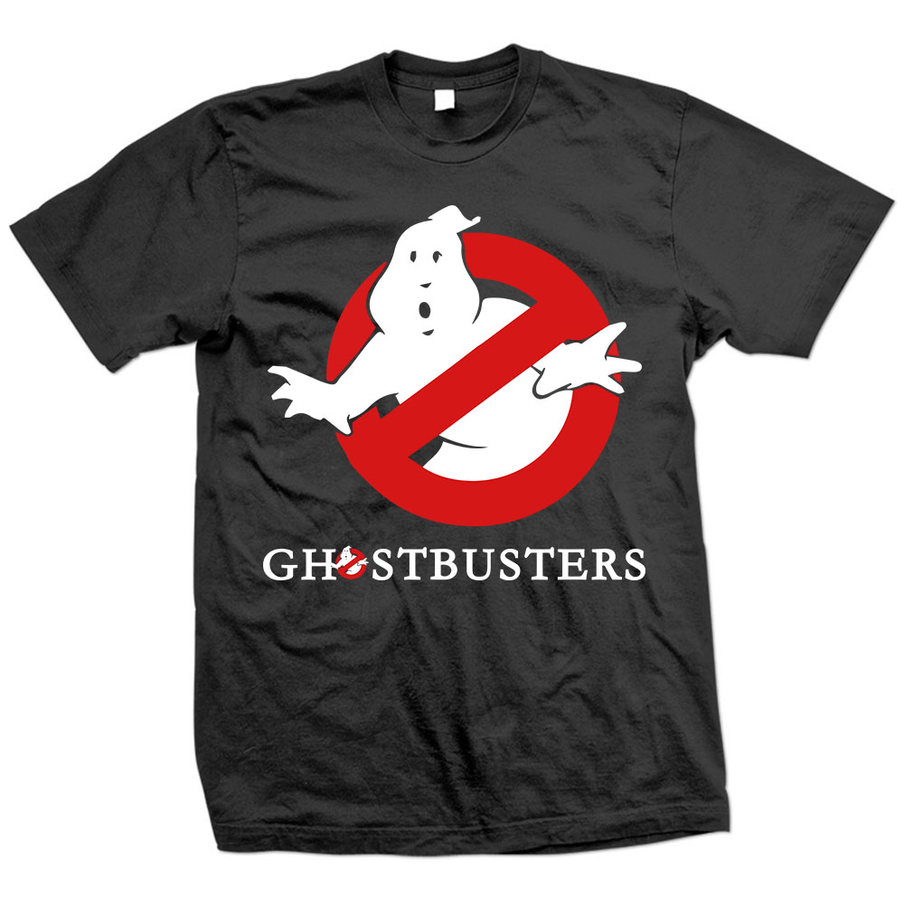 Free Shipping Ghostbuster T Shirts Men Short Sleeve Cotton