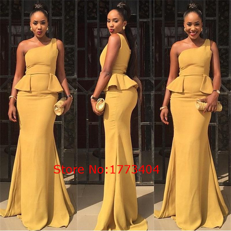 Popular Yellow Mermaid Dress-Buy Cheap Yellow Mermaid Dress lots ...
