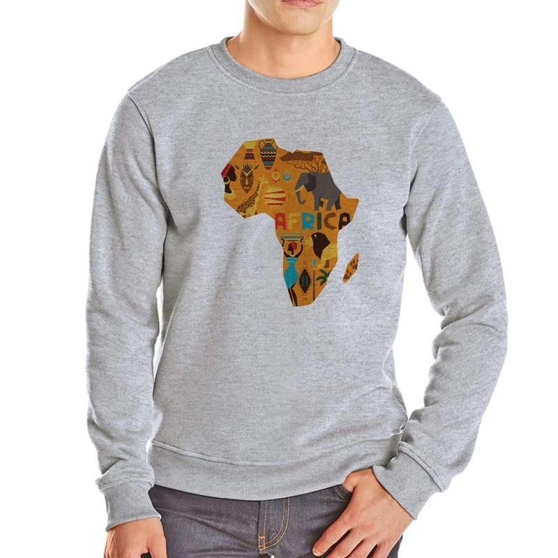 Africa map cool design Hoodie