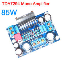 TDA7294 mono güç amplifikatörü kurulu 85W ses BTL Amp monte kurulu orijinal IC TDA 7294