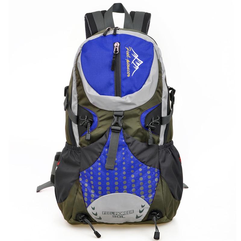 Waterproof Nylon Backpack women bag Mountaineering Travel Backpack men mochila brand rucksack trekking backpack 30L цены