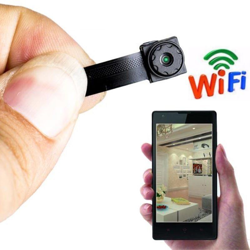 Mini Micro DVR Wireless Camera WIFI Portable Live Cam title=