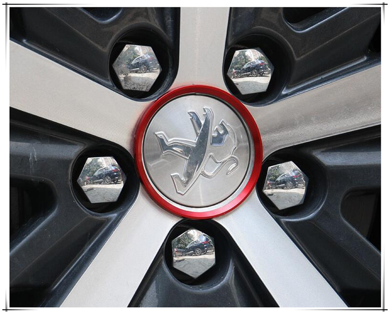 Hot Sale <font><b>Car</b></font> Styling Ring Wheel Hub Decoration Circle For <font><b>Peugeot</b></font> 3008 4007 4008 5008 508 RXH <font><b>SW</b></font> Partner <font><b>308</b></font> 508 RCZ <font><b>Accessories</b></font> image