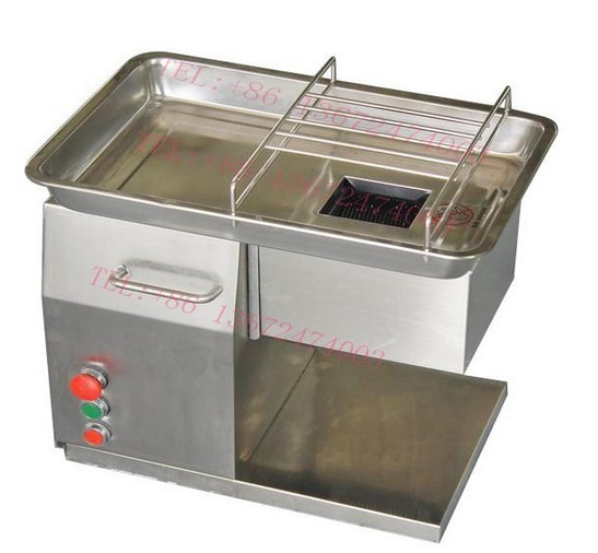 Come with 2 blades one year warranty QX model meat cutting machine 250kg/hr /fast shipping by express