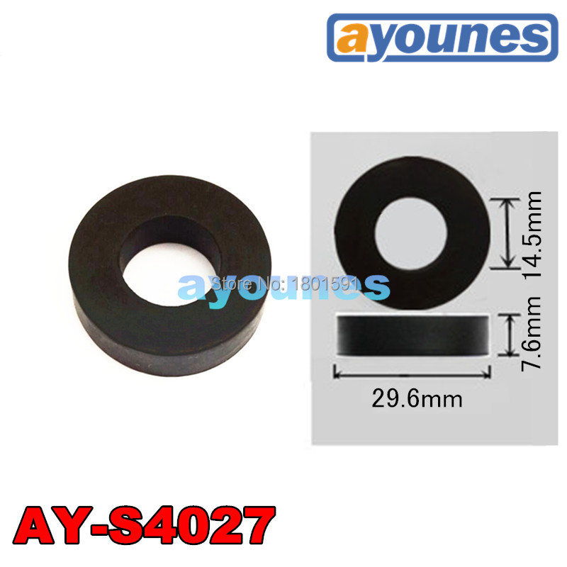 شحن مجاني بالجملة 10 قطعة المطاط الأختام ل حاقن وقود إصلاح أطقم عازل أقل الأختام AY-S4027