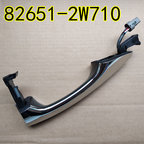 Genuine Front Handle Assy Door Outside For Hyundai Santa Fe 2013 2017 826512W710 826612W710 Induction