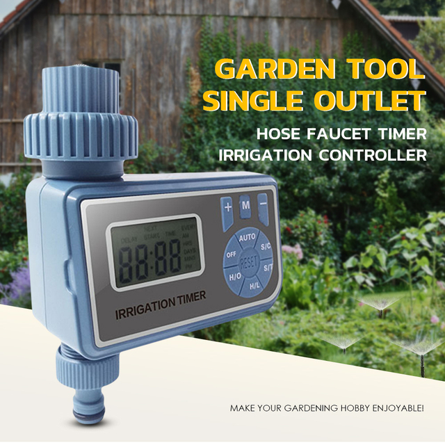 Garden Tool Single Outlet Hose Faucet Water Timer Irrigation Controller Garden Water Timer Yards / Greenhouses/Water Pipe Faucet